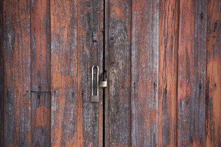 rusty background: door lock old rusty background