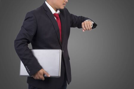indenture: engineer for workers Stock Photo