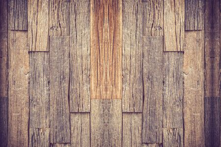 blemished: close up of wall made of wooden planks vintage color Stock Photo