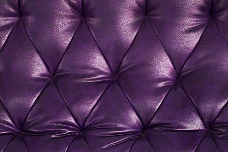 chambered: Genuine leather upholstery background for a luxury decoration in purple tones