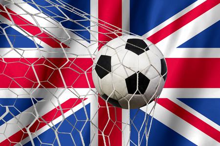 league of nations: Amazing United Kingdom Goal Stock Photo