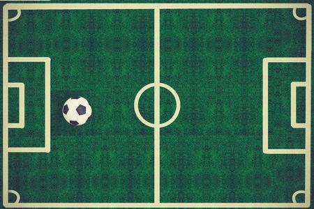 grass field: Soccer football field stadium grass