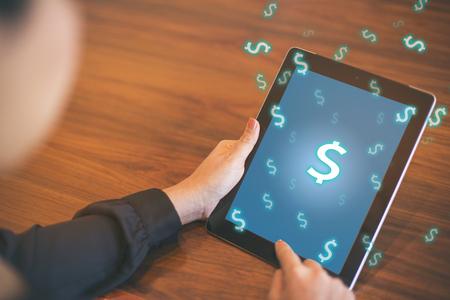 economize: Saving Money Economize Profit Concept