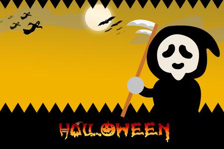 copyspace: Halloween background with copyspace Stock Photo