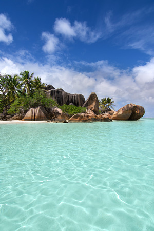 Anse Source dargent beach in Seychelles
