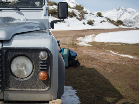 expedition: 4x4 expedition and adventure in mountain range from Palencia, Spain