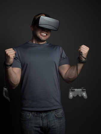 dependency: Technology and video games addiction and modern mental illness. Anxiety and dependency from technology.