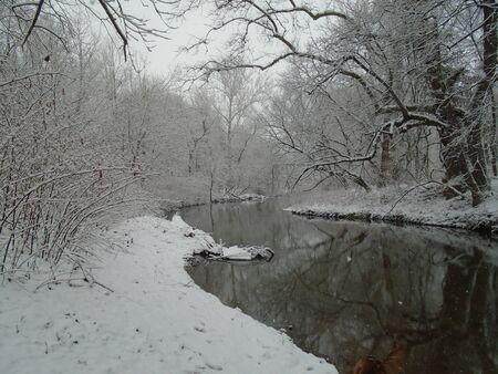 Winter scene Stok Fotoğraf
