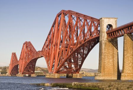 Forth Rail Bridge, Edinburgh, Scotland This bridge connects the towns of North and South Queensferry