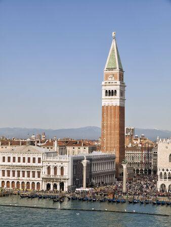 campanille: Campanile in Venice.