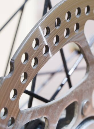 brake disc: Brake disc close up.   Stock Photo