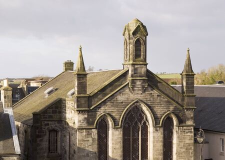 a church in the scottish's town of Dunfermline photo