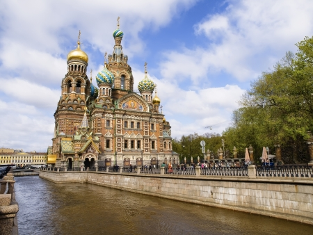 Church of the Savior on Spilled Blood in Saint Petersburg photo