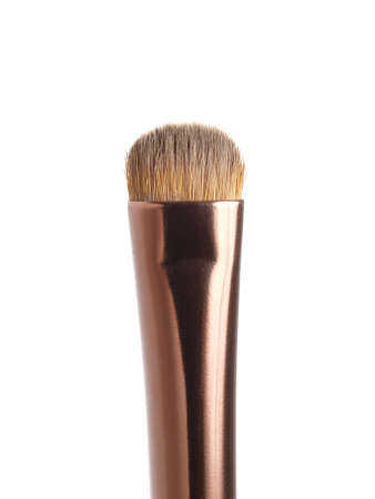 Smoky-eye brush for make-up  isolated on white photo