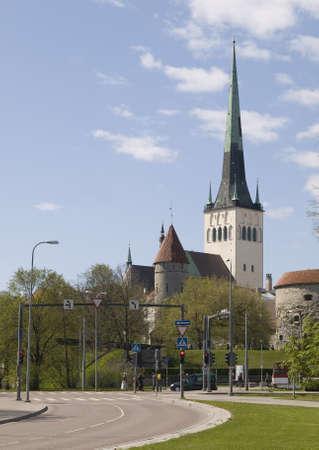 Olav church in Tallinn photo