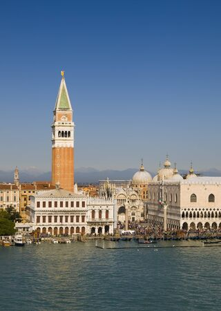 campanille: View of the Campanile and St  Mark