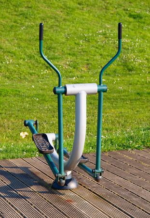 crosstrainer: Cross-trainer in a public park
