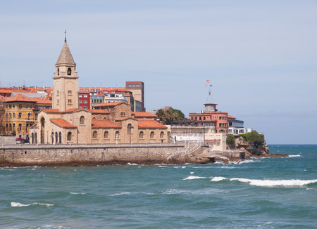 San Pedro church in Gijon, Asturias, Spain.