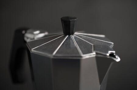 expresso: Italian expresso machine over dark background