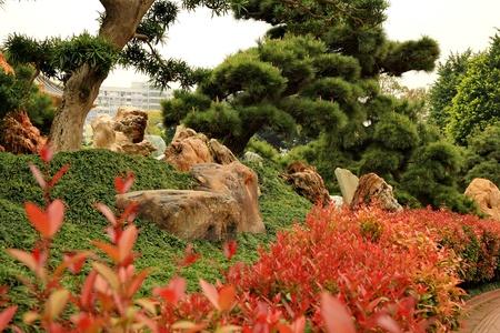 Park in Hong Kong Banque d'images