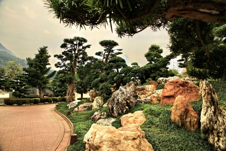 Green park in China