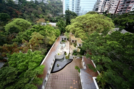 Kowloon Park - public park on the Kowloon peninsula in Hong Kong