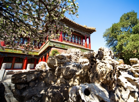 Lamaist temple Yunhegun is the most famous Buddhist temple in Beijing