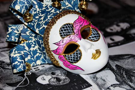 Carnival mask from Venice Banque d'images