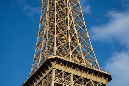 The Eiffel Tower in Paris Banque d'images