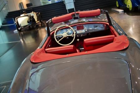 interior of cabriolet