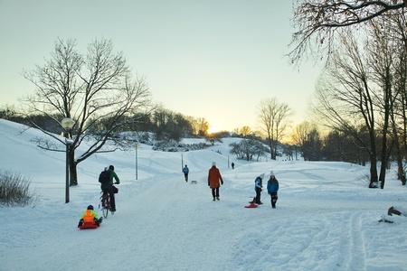 winter Landscape Éditoriale