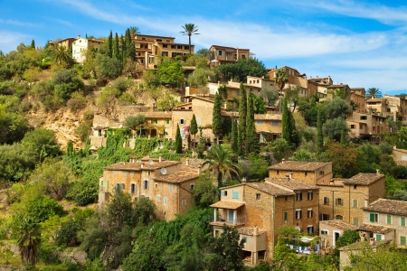 Residential area  Port Soller  Mallorca  photo
