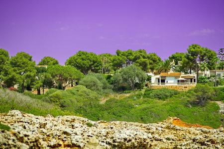 Picturesque place in Palma de Mallorca Banque d'images