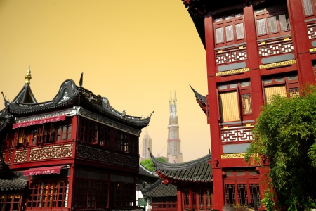 Chinese houses in Shanghai