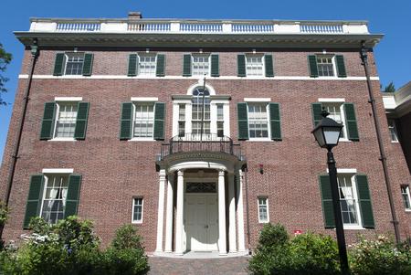 The example of Boston city historic architecture (Massachusetts).
