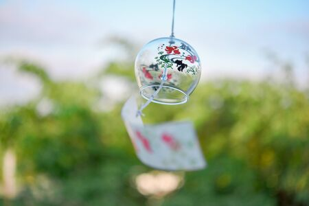 Shaking wind chimes