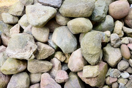lithic: A large pile of different stone quarry