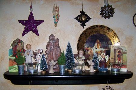 Christmas Shelf Imagens