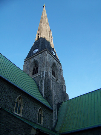 steeples: Steeple In Shadow