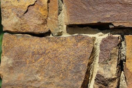 Brick Stone Wall Detail