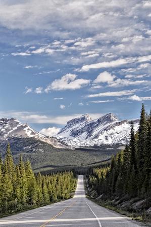 national parks: Icefields Parkway, Banff & Jasper National Parks, Alberta, Canada