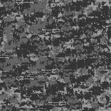 Seamless vector pattern stone wall texture on grey background. Rustic wall wallpaper design. Stone material fashion textile.
