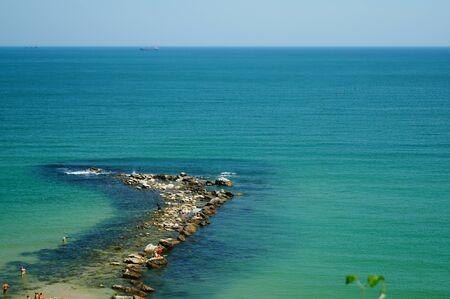 seaside in Black sea