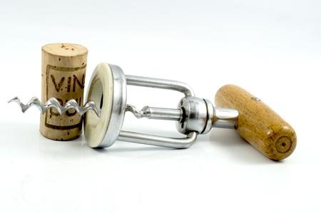 Oude wijnstokken kurkentrekker Stockfoto - 21744582