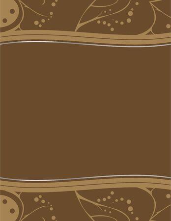 복사본에 대 한 공간을 가진 갈색 추상 소박한 디자인 스톡 콘텐츠 - 3458783