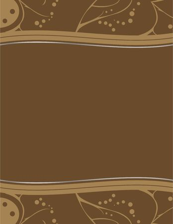 Brown abstract earthy design with space for copy
