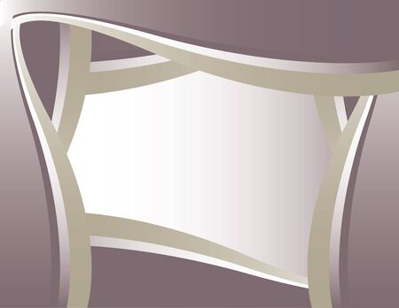 Purple and silver rotating frame background