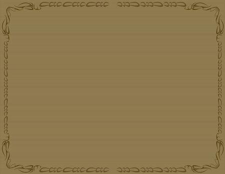 갈색 배경에 갈색 옛 ed 테두리 스톡 콘텐츠