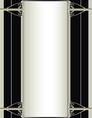 オフ、白、黒と銀の背景  イラスト・ベクター素材