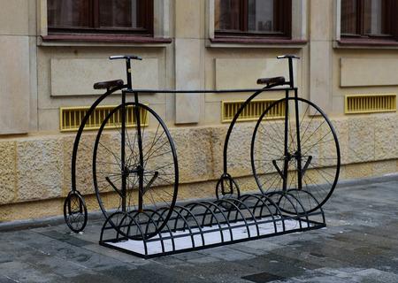 bike parking: bike parking